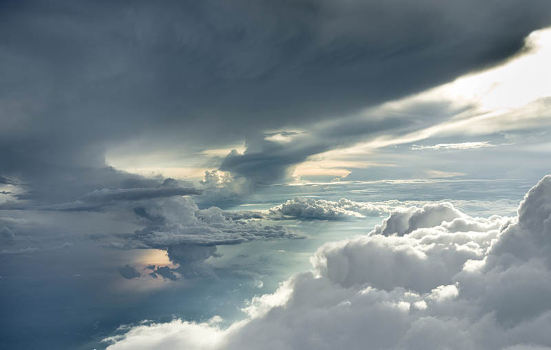 above the clouds photos