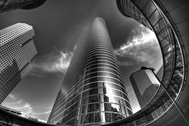 Black and White Architecture Photography by Joel Tjintjelaar TwistedSifter