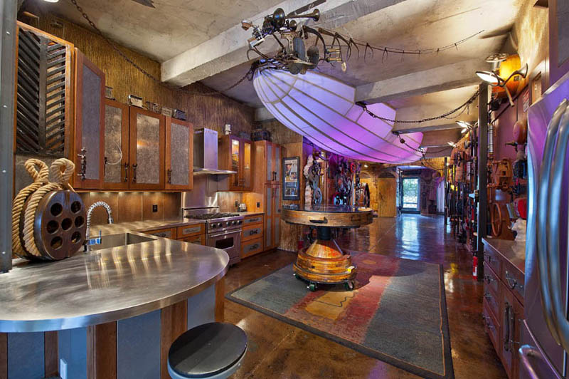 Crazy Steampunk Apartment In New York City TwistedSifter