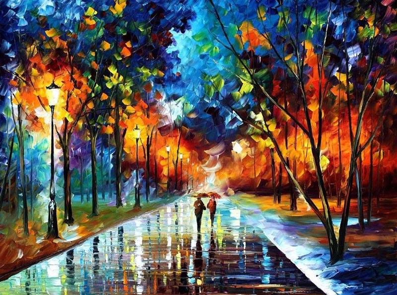 breathtaking oil paintings using