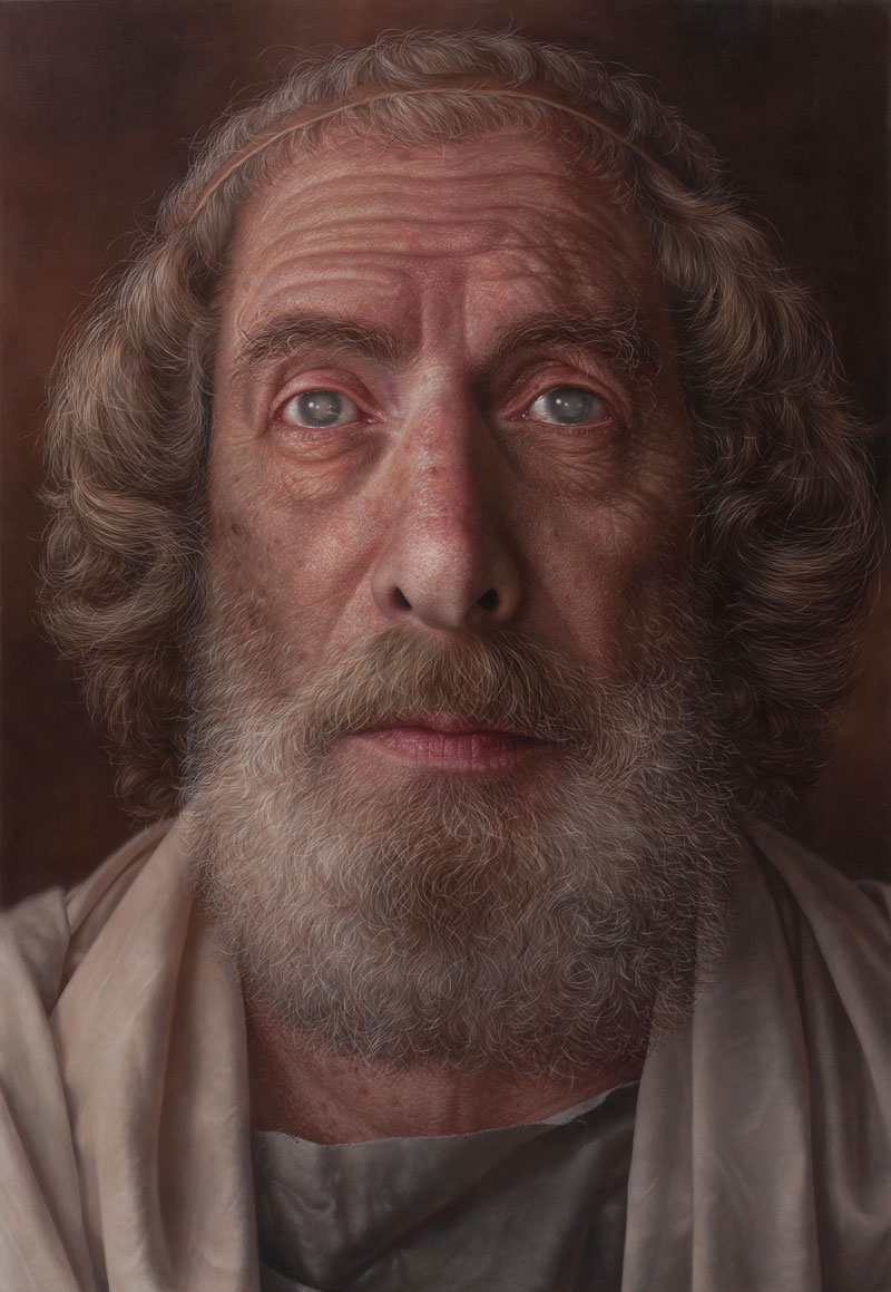 Hyperrealistic Portraits Acrylic Paint Twistedsifter