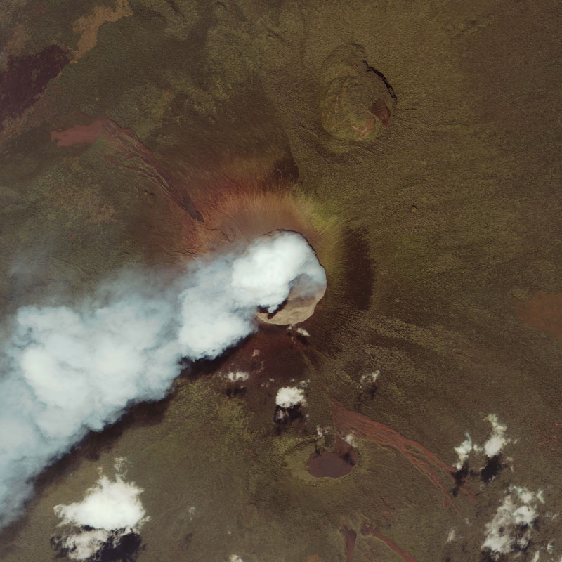 Volcanic Eruptions Space Twistedsifter