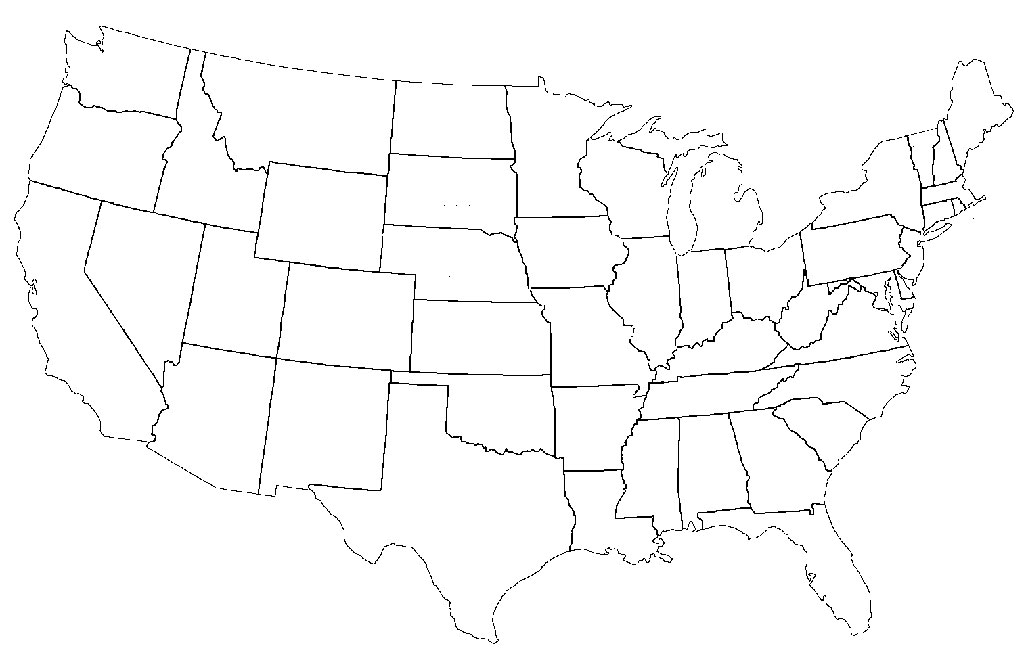 Map of the united states with state capitals. Funny Americans And Brits Label Maps Of The Usa Europe