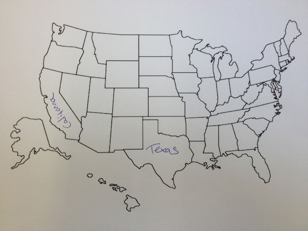 This Is What Happens When Americans Are Asked To Label Europe And Brits Are Asked To Label The