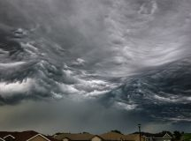 Picture of the Day: Storm Cloud Looks Like Ocean Waves ...
