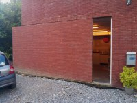 Picture of the Day: The Sneaky Sliding Brick Wall Door ...