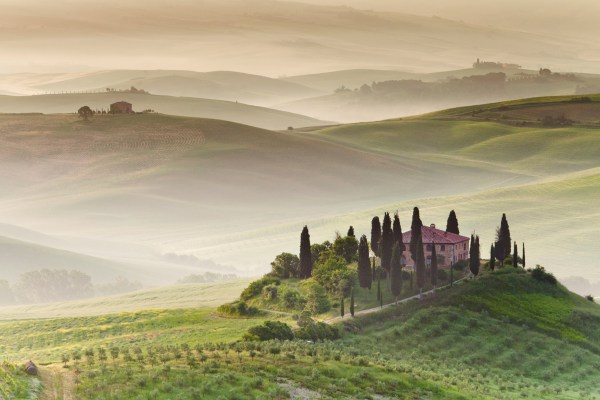 Picture of the Day Morning Fog in Tuscany 171TwistedSifter