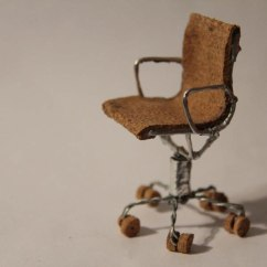 Wrought Iron Chair Standard Dining Height 17 Miniature Chairs Made From Champagne Corks «twistedsifter