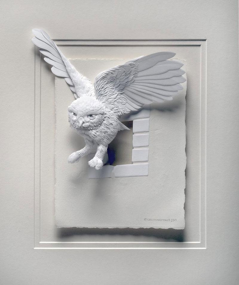 3D Paper Animal Sculptures