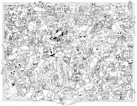 If You Color This In Just Right, a Few Gaming Logos Might ...