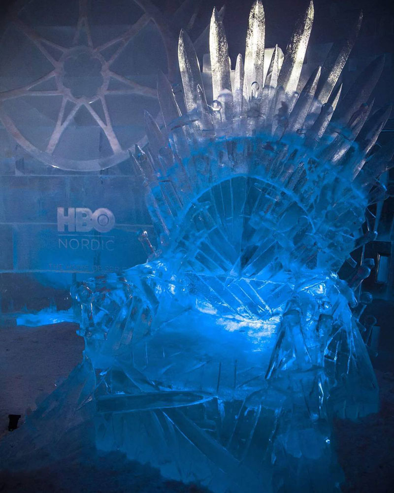 Game of Thrones Ice Hotel Finland