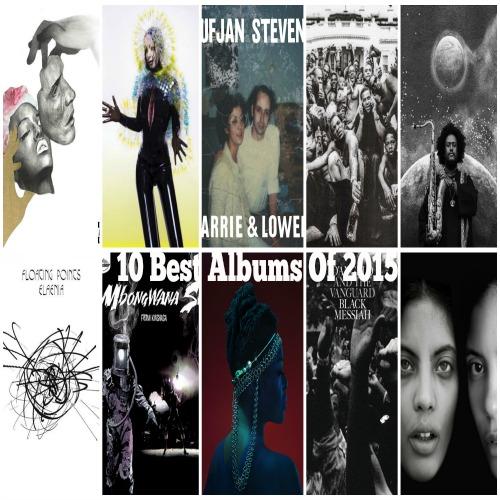 10 Best Albums Of 2015