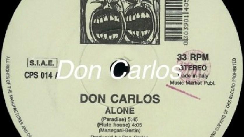 DON CARLOS- Alone