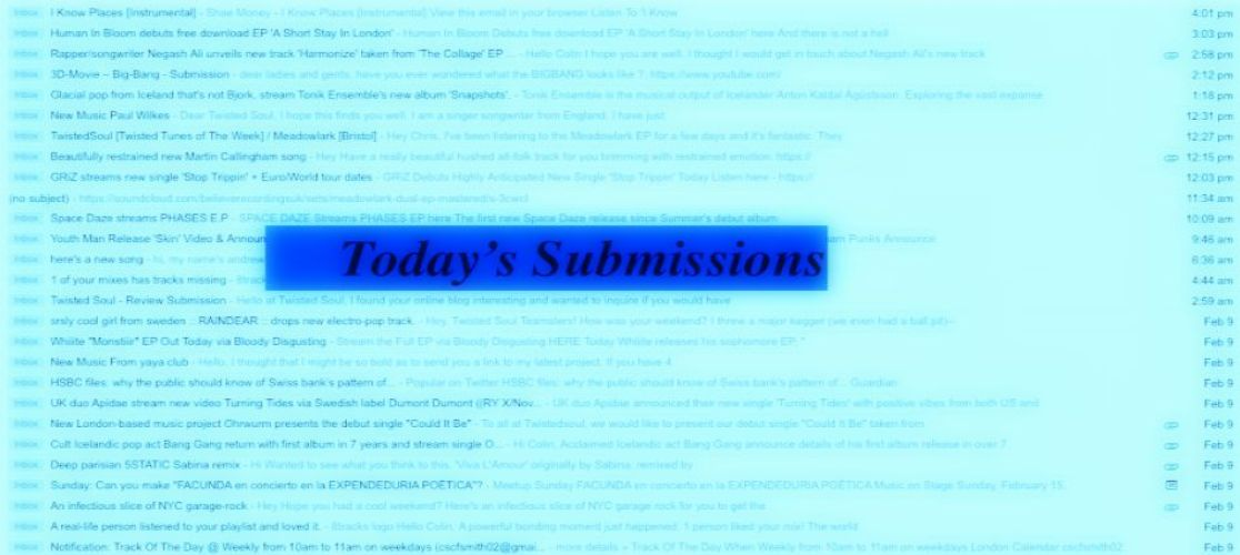 Today's Submissions