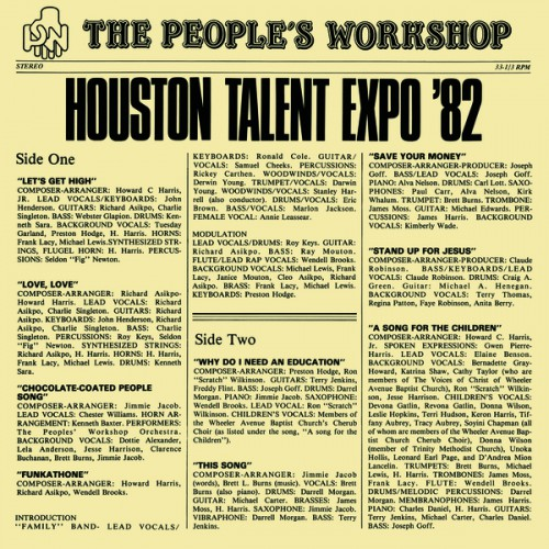 """The People's Workshop """"Houston Talent Expo '82"""""""