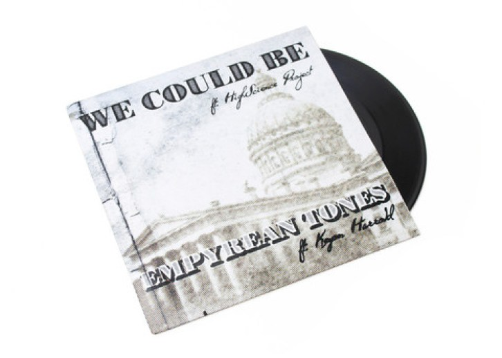"""JASON MCGUINESS FT. THE HIGH SCIENCE PROJECT / KEYON HARROLD - WE COULD BE B/W EMPYREAN TONE (7"""")"""