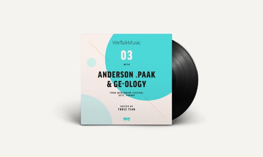 WeTalkMusic EP3.. Anderson .Paak & Ge-ology