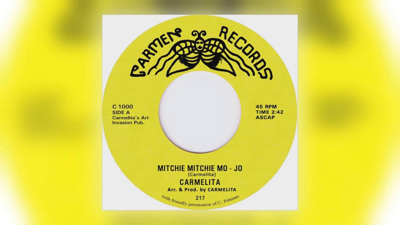 Carmelita - Mitchie Mitchie Mo-Jo b/w Under The Trees