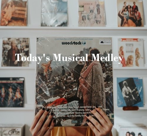 An eclectic playlist with lots of new goodies to feast on.