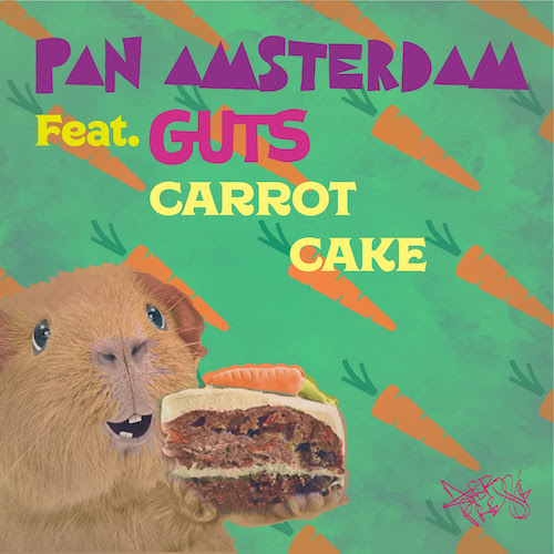 Pan Amsterdam. Carrot Cake with GUTS.