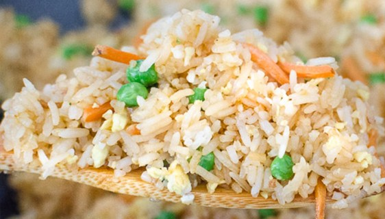 Restaurant Style Asian Fried Rice | Twisted Tastes