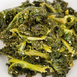 Kale Greens and Garlic | Twisted Tastes