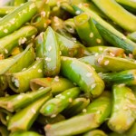 Sesame Sugar Snap Peas | Twisted Tastes