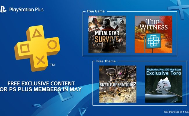 Ps Plus May 2019 Free Games Lineup Revealed For Asia And Japan