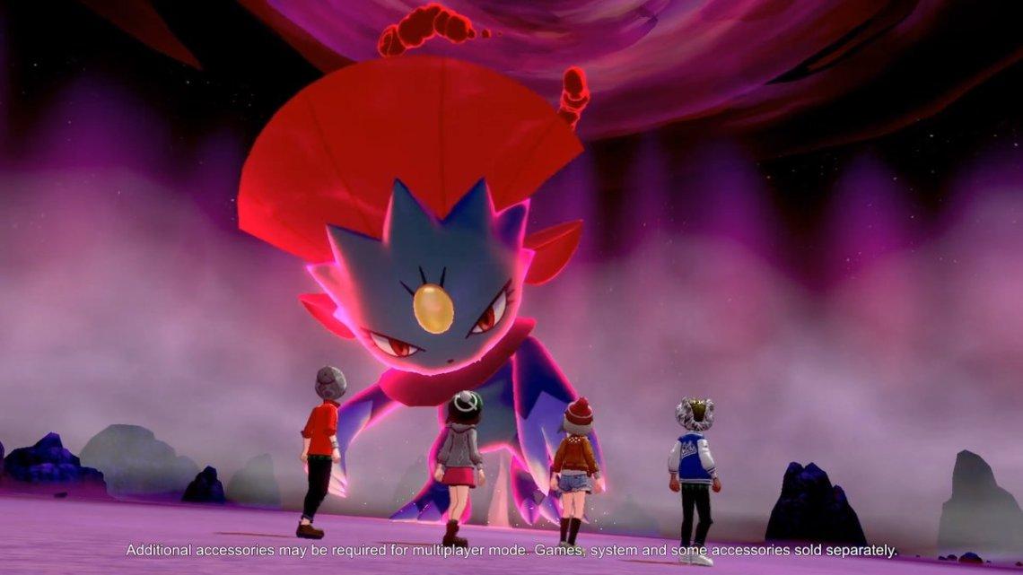 pokemon sword and shield gigantimax pokemon