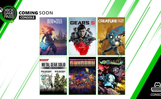 Xbox Game Pass September 2019 Games Lineup Partially Confirmed