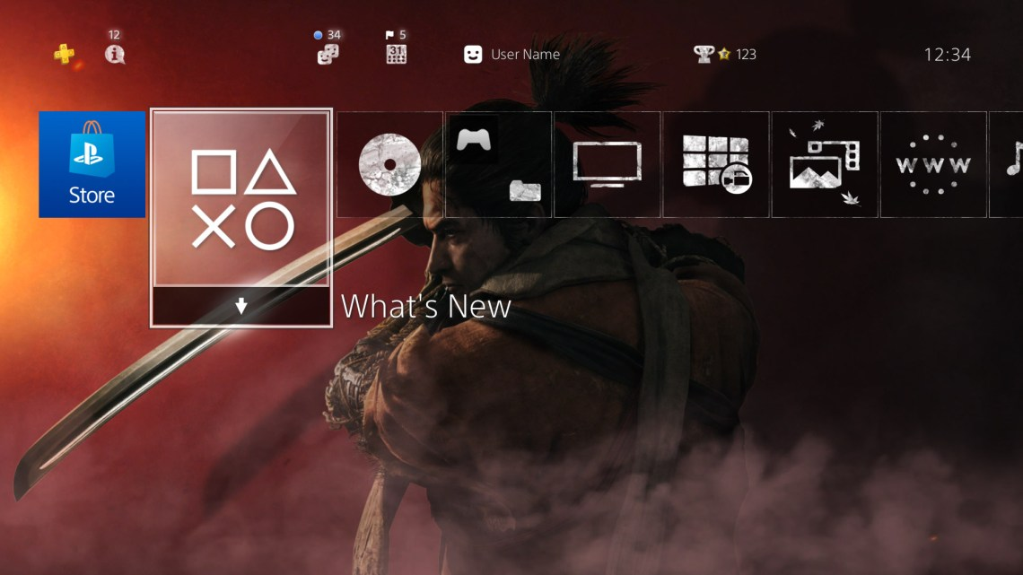 ps4 free dynamic and static themes