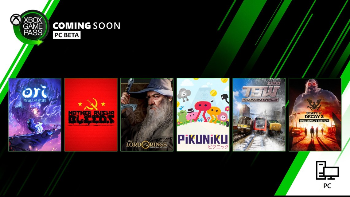 xbox game pass march 2020 update