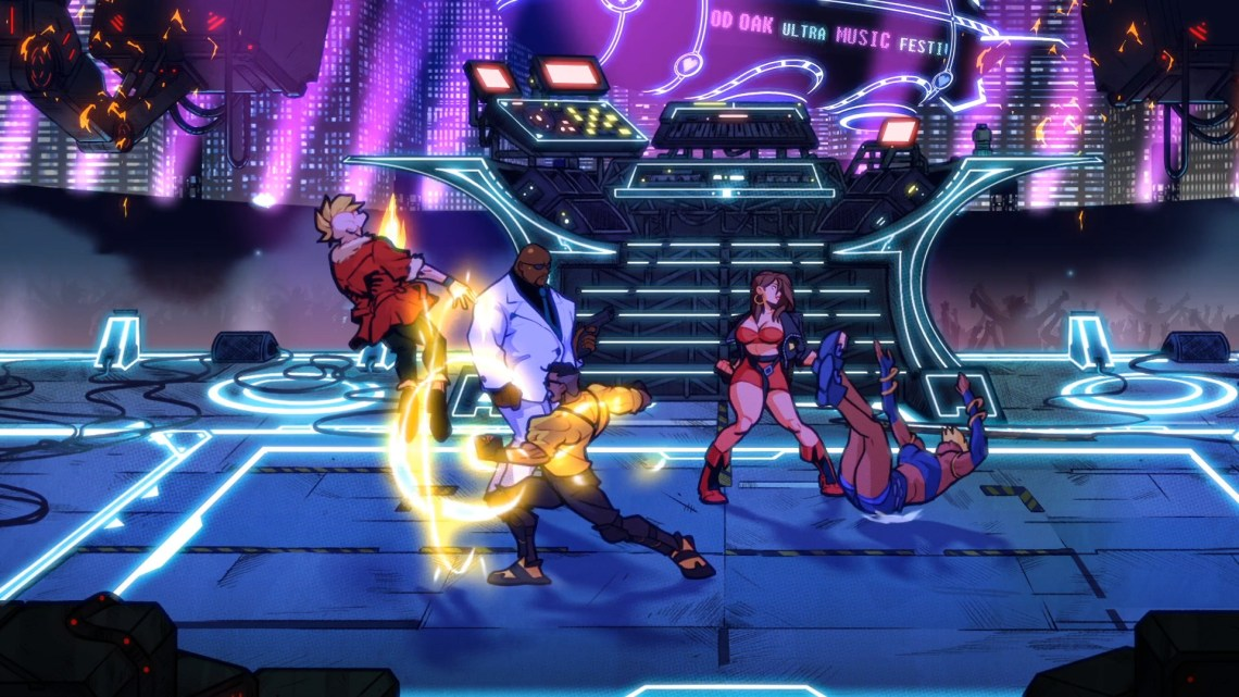 streets of rage 4 update 1.03 patch notes