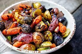 Balsamic Rosemary Roasted Seasonal Vegetables (GF, V, Vg)