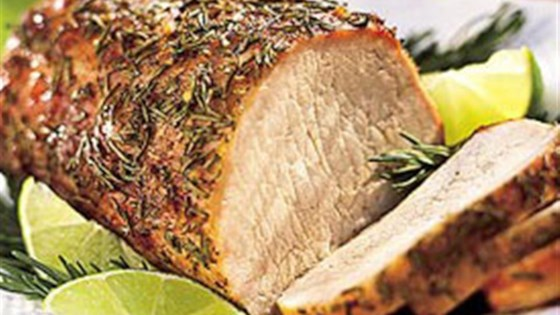Brown Sugar Rosemary Pork Loin (GF)