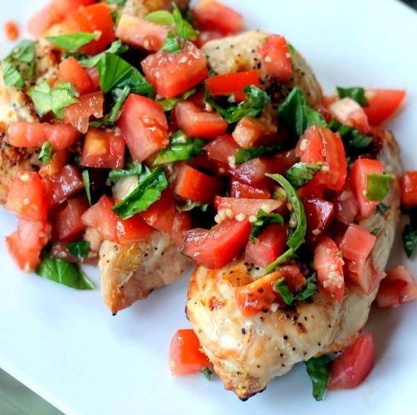 Tomato Bruschetta Chicken (GF)