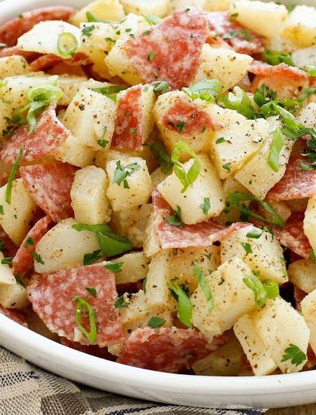 Warm German Potato Salad (Vg)