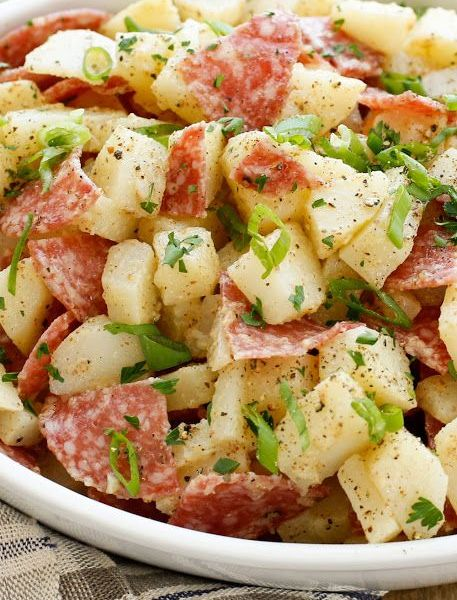 Warm German Potato Salad (Vg)
