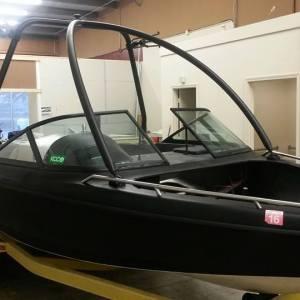 Custom vinyl boat wraps
