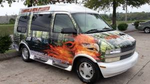 Protecting vehicle wraps in the heat