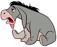 Sick Eeyore
