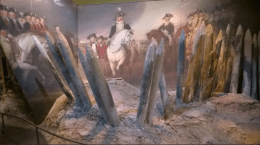 Surrender of Lord Cornwallis by John Trumbull...and spikes!
