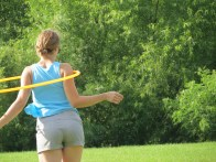 Kayla Helm shoulder hooping