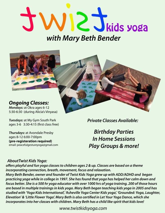 about twist kids yoga