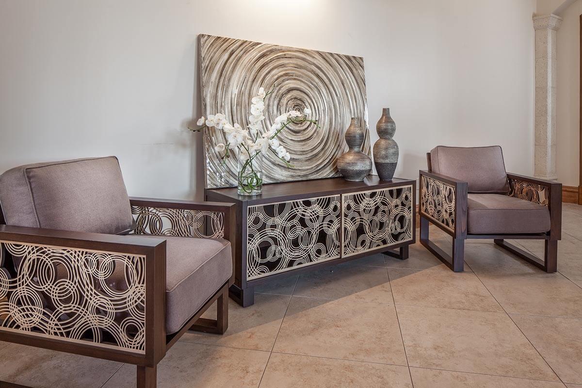 water lounge chairs chair for teenage girl bedroom rain on espresso twist modern