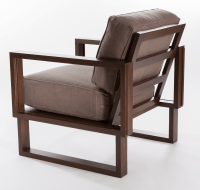 Interlaced Circle Lounge Chair - Twist Modern