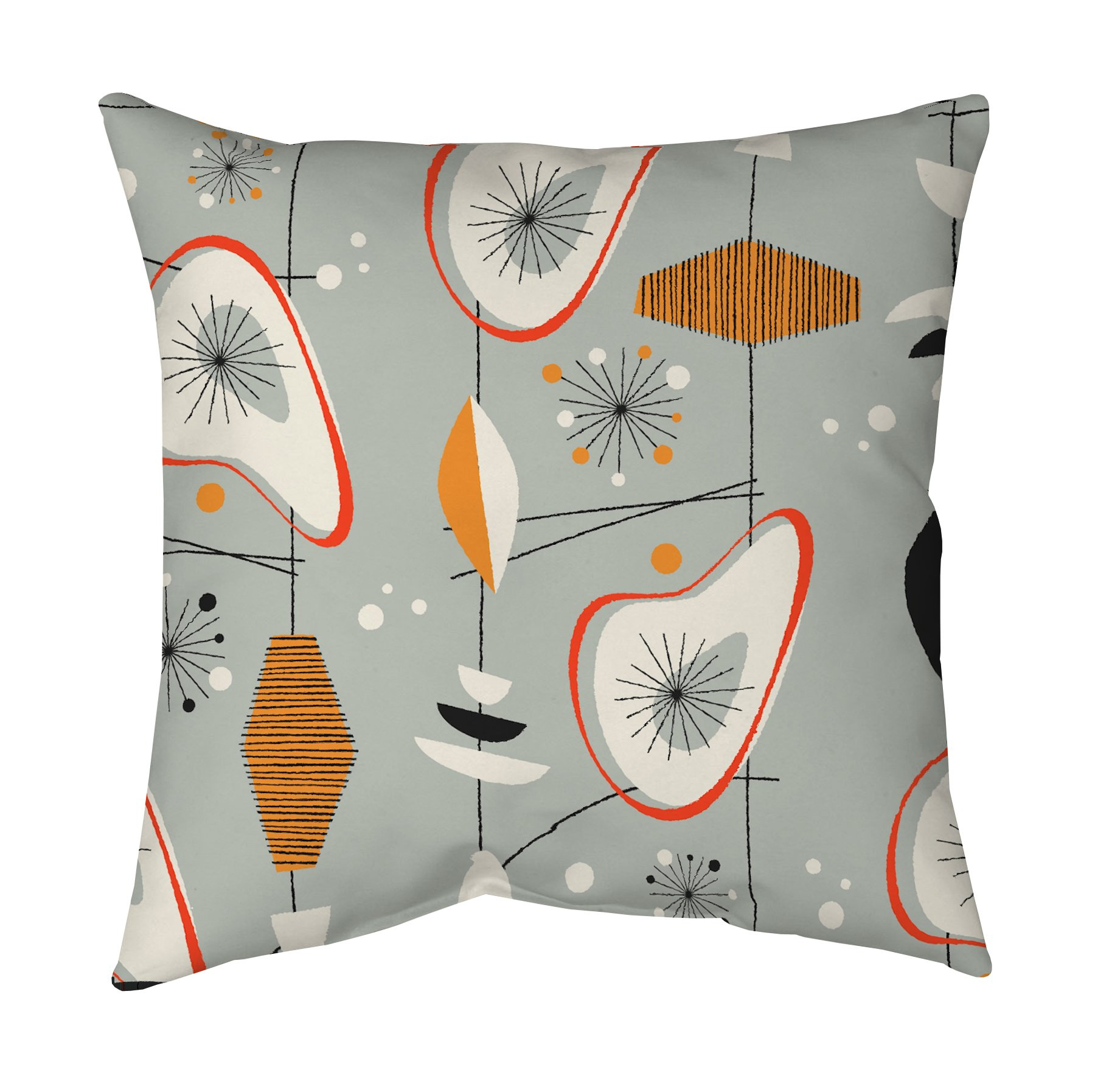 Mid Century Modern Pillow by Blend Home  Twist Modern