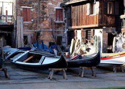 A squeri (gondola workshop).