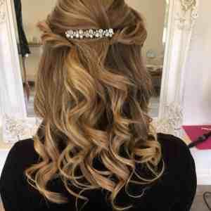 Blond curls