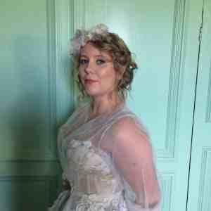 A beautiful ethereal bridesmaid